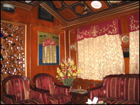 Accommodation in Palace on Wheels Luxury Train, Rajasthan