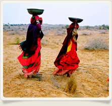 Rural Life in Rajasthan